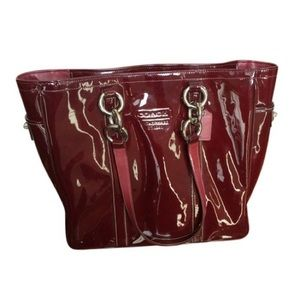 Gently Used Coach Patent Leather Tote